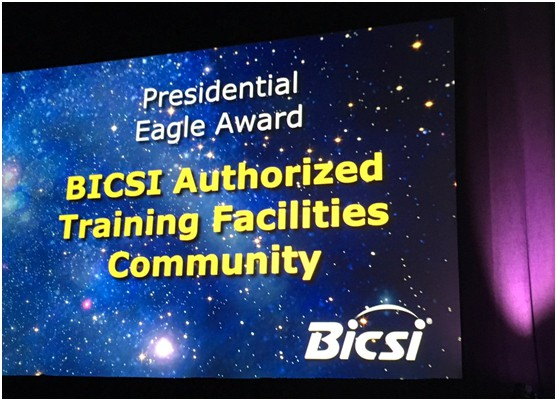BICSI-Presidential-Eagle-Award-to-Authorized-Training-Facilities-(ATFs)
