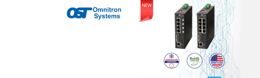 Omnitron systems 10G switches