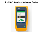 LinkIQ Cable+Network Tester